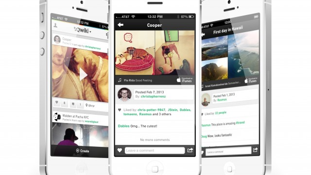 Qwiki Hopes To Prove That We Need Yet Another Social Video App For iPhone