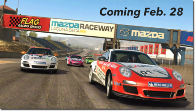 Start Your Engines! Real Racing 3 Arriving Feb. 28