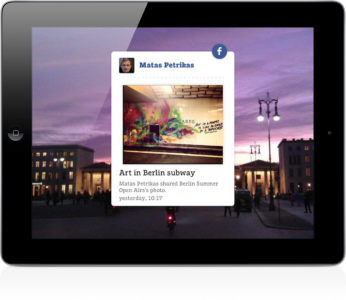 ScreenFeeder Screensaver App For iOS Now Includes Facebook Support
