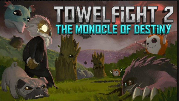Go To Battle With Laser-Blasting Bees And More In The Upcoming Towelfight 2