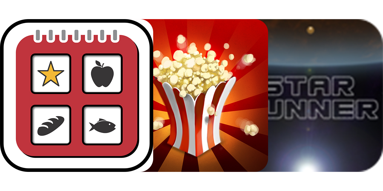 Today's Best Apps: MealPlan, Movie Blitz And Star Runner