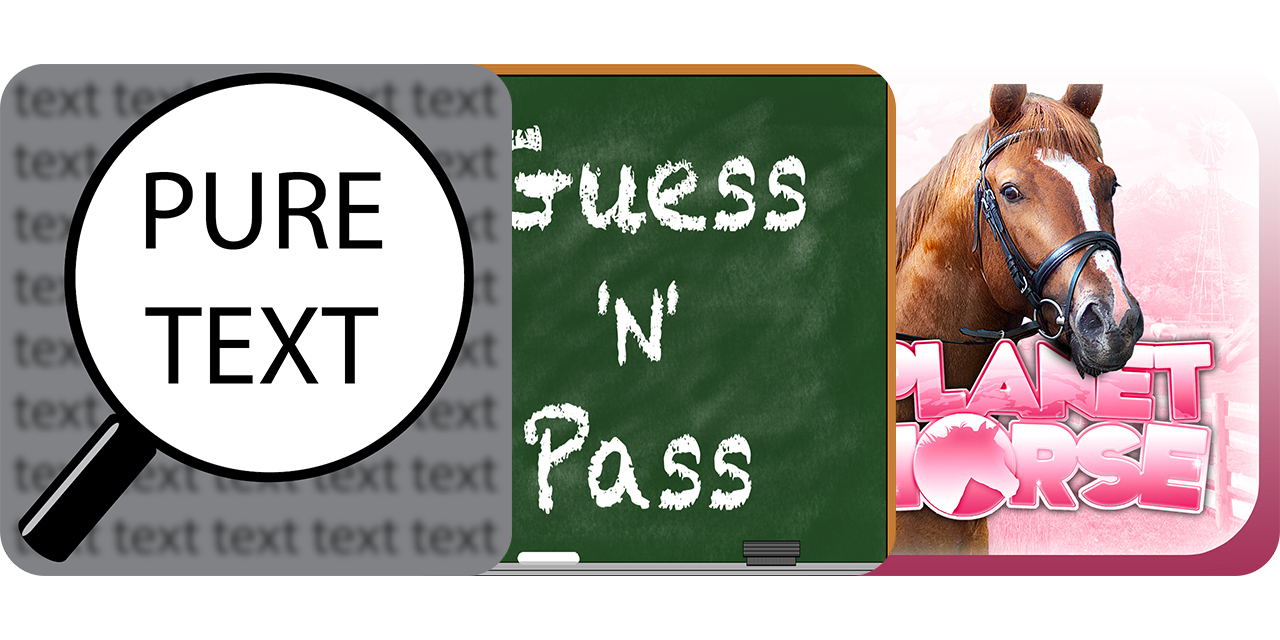 Today's Best Apps: Pure Text, Guess 'N' Pass And Planet Horse