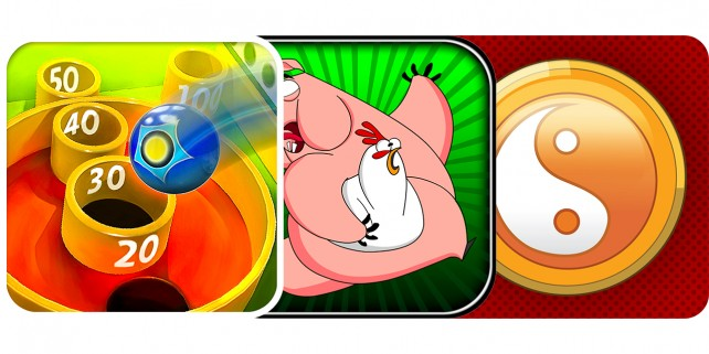 Today's Best Apps: AE Skee Ball, Save Your Bacon And Fortune Balls