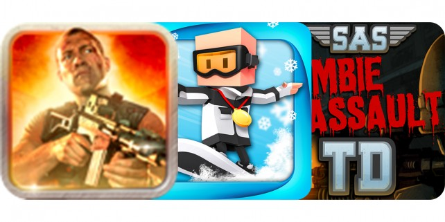 Today's Best Apps: Die Hard, Flick Champions Winter Sports And SAS: Zombie Assault TD