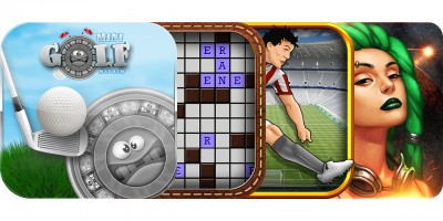 Today's Best Apps: Mini Golf Mayhem, Crossword Cryptogram, Flick Kick Penalty And More