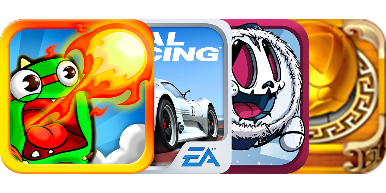 Today's Best Apps: Up In Flames, Real Racing 3, Bobbing And More