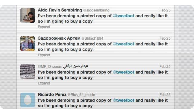 Tweetbot Creators Shaming App Thieves