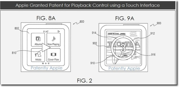 Apple Receives A Patent For 'No Look' Technology
