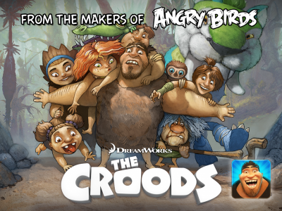 Rovio And DreamWorks Launching Fowl Free The Croods Game March 14