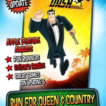Get Shaken And Stirred By Running For Queen And Country In Agent Dash 2.0