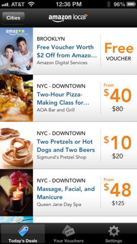 Feeling Generous? Now You Can Gift Deals In Amazon Local For iOS