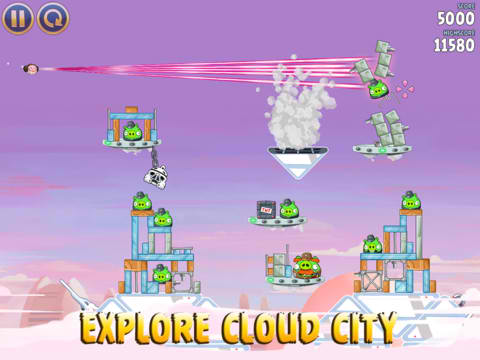 Angry Birds Star Wars Takes You To New Heights With New Cloud City Episode