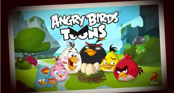 'Angry Birds Toons' Now Showing On An iDevice Near You