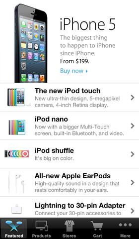 Check Out The New Shipping And Availability Options In The Apple Store App