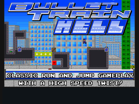 Bullet Train Hell Is A Hell Of A Challenging Puzzle Platformer