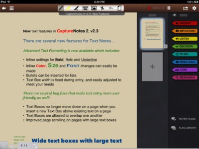 CaptureNotes 2 Takes Note Of CaptureAudio Integration And Other Improvements
