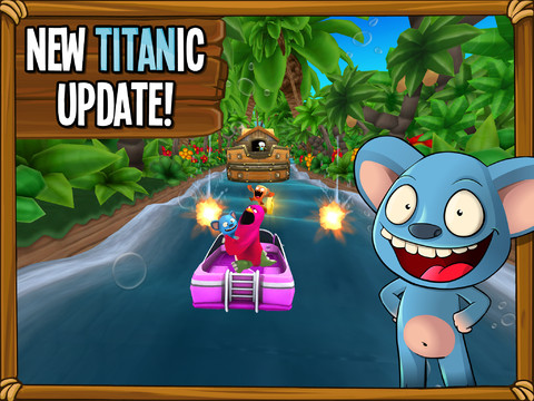 Catch The First Titanic Content Update For Endless Rafting Game Catch The Ark