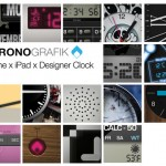 Turn Your iDevice Into A Designer Timepiece With ChronoGrafik
