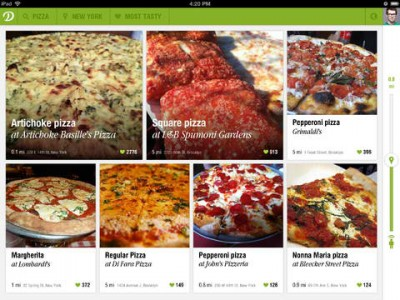 Get Mouthwatering Dish Recommendations On Your iPad With Dish.fm
