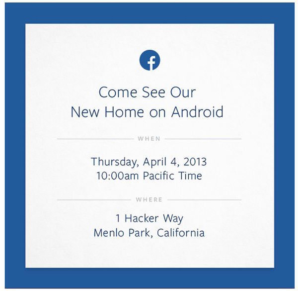 Another 'iPhone Killer'? Facebook Set To Unveil 'New Home On Android' Next Week