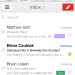 Google Brings Gmail iOS App's Neat User Interface To Gmail Mobile Web App