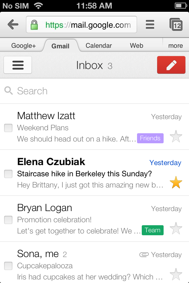 how to add ios email to google