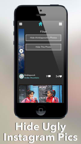 Hide Unwanted Photos In Your Instagram Feed With Gramatica