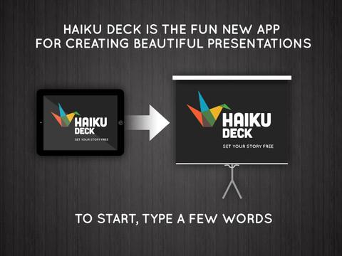 Making Beautiful Presentations Is A Breeze With Haiku Deck 2.0