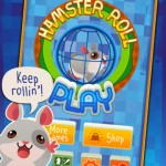 Roll Down As Far As You Can To Score As High As You Can In Hamster Roll
