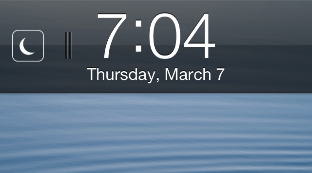 Cydia Tweak: Enable Do Not Disturb From The Lock Screen With Flusterless