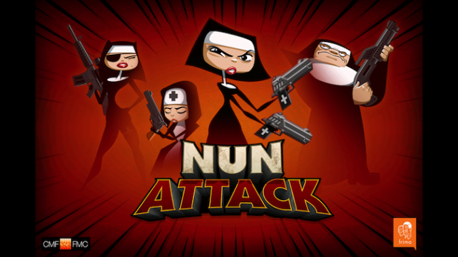Quirky App Of The Day: Nun Attack Takes A New Approach To Fighting Evil