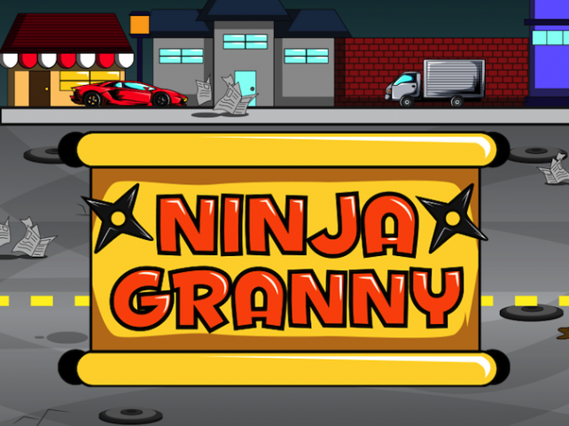 Quirky App Of The Day: Ninja Granny Has Some Serious Skills