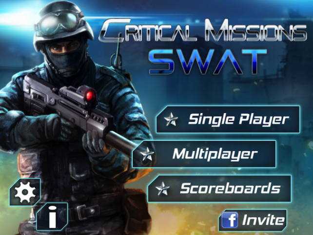 Quirky App Of The Day: Critical Missions: SWAT Is An Intense First Person Shooter