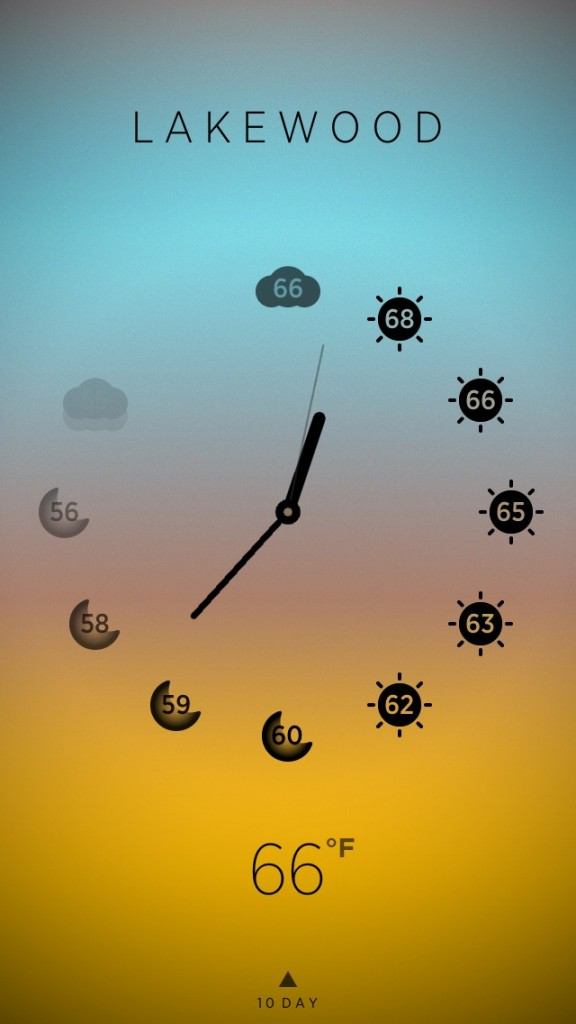 Get The Time And Weather At Once With Climate Clock