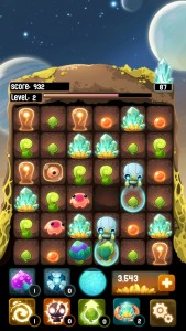 Slide And Match-Three Your Way To Supreme Aliens In Alien Hive