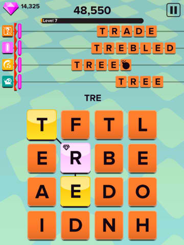 Lots Of F-U-N Await As You Rush Into Word Building Supremacy In Letter Rush
