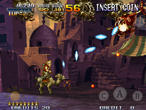 X Marks The Spot In New iOS Run And Gun Game Metal Slug X