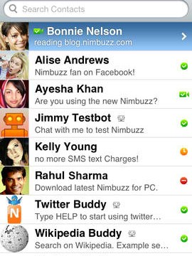 Nimbuzz Messenger 3.0 Brings Group Chat Support And Improved Twitter Integration