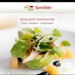 OpenTable For iPad Gets A Makeover To Make Restaurant Reservation Easier
