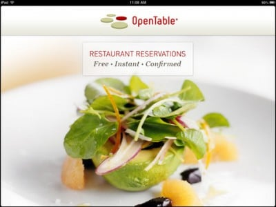 OpenTable For iPad Gets A Makeover To Make Reservation Easier