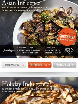 Universal Video Cooking Magazine App Panna Serves Up New Features For iPhone