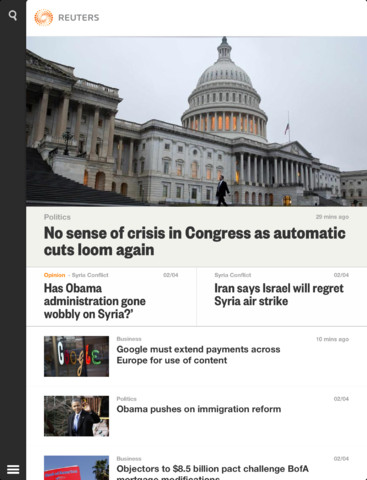 Reuters Launches New iOS App With Impressive Interface And Features