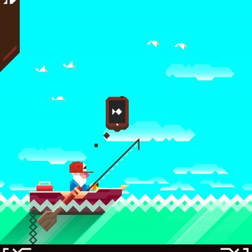 Catch Of The Day: Ridiculous Fishing Out Now In The App Store