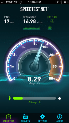 Speedtest.net For iOS Brings You Up To Speed With New UI And iPhone 5 Support