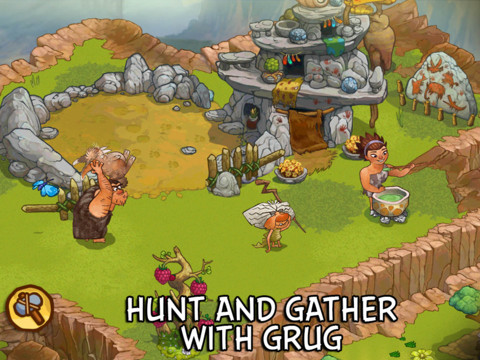The Croods Is Out Now On iOS - Will This 'Pre-Hysterical' Game Make History For Rovio?