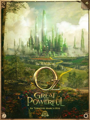 Experience The Magic Of Oz The Great And Powerful With This Second-Screen App