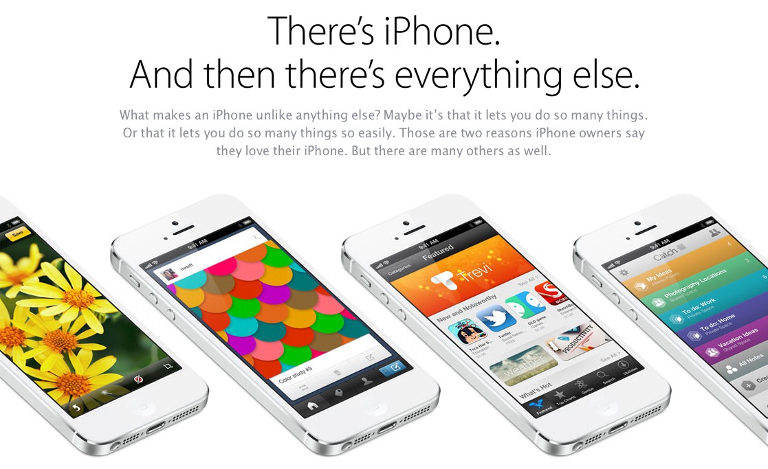 Apple Emerges With New iPhone Promotional Campaign Following Galaxy S IV Launch