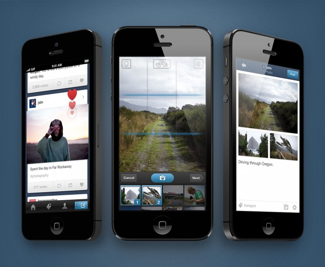 Tumblr For iOS Updated With New Camera, Photoset Creation And More