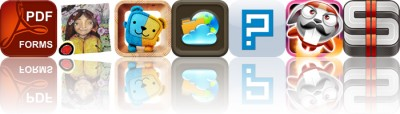 Today's Apps Gone Free: PDF Forms, The Trees Grin Beside Me, Gemibears And More