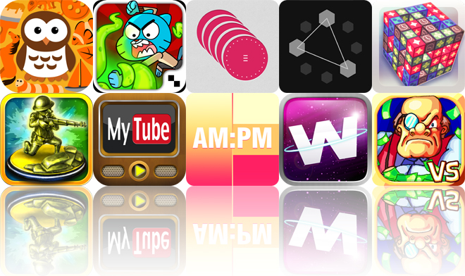 Today's Apps Gone Free: Little Things Forever, Mutant Fridge Mayhem, WURM And More